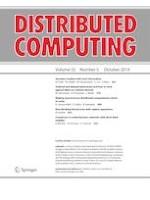 Distributed Computing 5/2019