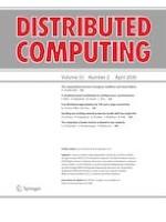 Distributed Computing 2/2020