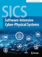 SICS Software-Intensive Cyber-Physical Systems 1/2019