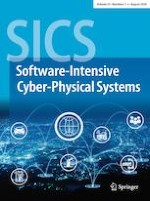 SICS Software-Intensive Cyber-Physical Systems 1-2/2020
