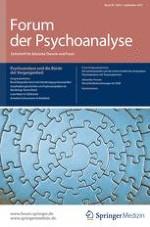 Forum der Psychoanalyse 3/1999