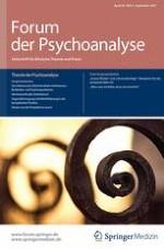 Forum der Psychoanalyse 3/2014