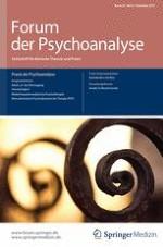 Forum der Psychoanalyse 4/2014