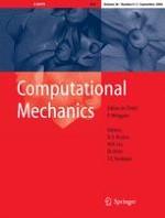 Computational Mechanics 4-5/2006