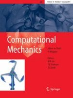 Computational Mechanics 1/2014