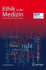 Ethik in der Medizin 1/2008