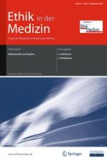 Ethik in der Medizin 3/2009