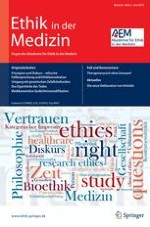 Ethik in der Medizin 2/2014