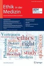 Ethik in der Medizin 4/2014