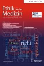 Ethik in der Medizin 2/2016