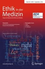 Ethik in der Medizin 3/2016