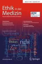 Ethik in der Medizin 3/2017