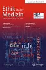 Ethik in der Medizin 4/2017