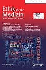 Ethik in der Medizin 2/2019