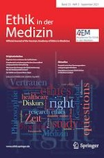Ethik in der Medizin 3/2021