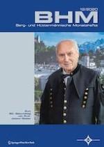BHM Berg- und Hüttenmännische Monatshefte 12/2020