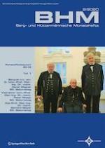 BHM Berg- und Hüttenmännische Monatshefte 2/2020