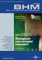 BHM Berg- und Hüttenmännische Monatshefte 5/2020