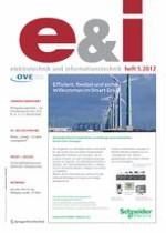 e & i Elektrotechnik und Informationstechnik 5/2012