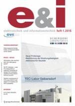 e & i Elektrotechnik und Informationstechnik 1/2016