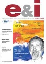 e & i Elektrotechnik und Informationstechnik 8/2018