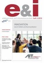 e & i Elektrotechnik und Informationstechnik 3/2019