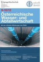 Österreichische Wasser- und Abfallwirtschaft 9-10/2012