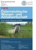 Österreichische Wasser- und Abfallwirtschaft 7-8/2013