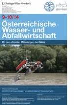 Österreichische Wasser- und Abfallwirtschaft 9-10/2014