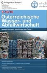Österreichische Wasser- und Abfallwirtschaft 9-10/2015