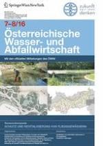 Österreichische Wasser- und Abfallwirtschaft 7-8/2016