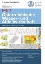 Österreichische Wasser- und Abfallwirtschaft 5-6/2017