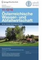 Österreichische Wasser- und Abfallwirtschaft 11-12/2018