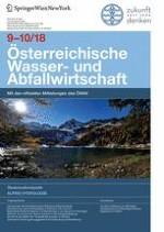 Österreichische Wasser- und Abfallwirtschaft 9-10/2018