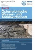 Österreichische Wasser- und Abfallwirtschaft 3-4/2019