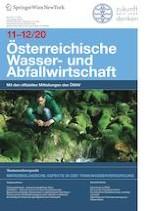 Österreichische Wasser- und Abfallwirtschaft 11-12/2020