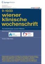 Wiener klinische Wochenschrift 13-14/2010