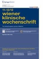 Wiener klinische Wochenschrift 11-12/2012