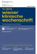 Wiener klinische Wochenschrift 13-14/2012