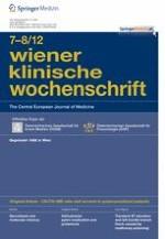 Wiener klinische Wochenschrift 7-8/2012