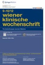 Wiener klinische Wochenschrift 9-10/2012