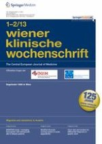 Wiener klinische Wochenschrift 1-2/2013