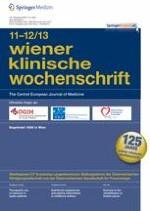 Wiener klinische Wochenschrift 11-12/2013
