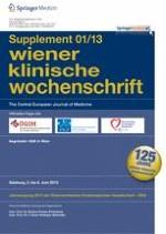 Wiener klinische Wochenschrift 1/2013