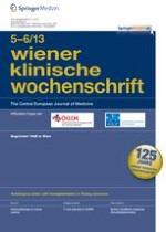 Wiener klinische Wochenschrift 5-6/2013
