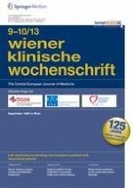 Wiener klinische Wochenschrift 9-10/2013