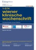 Wiener klinische Wochenschrift 1-2/2014