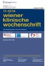 Wiener klinische Wochenschrift 11-12/2014