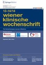 Wiener klinische Wochenschrift 13-14/2014