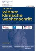 Wiener klinische Wochenschrift 15-16/2014